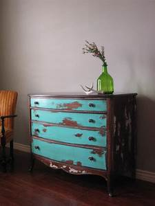 European, Paint, Finishes, Eclectic, Weathered, Dresser