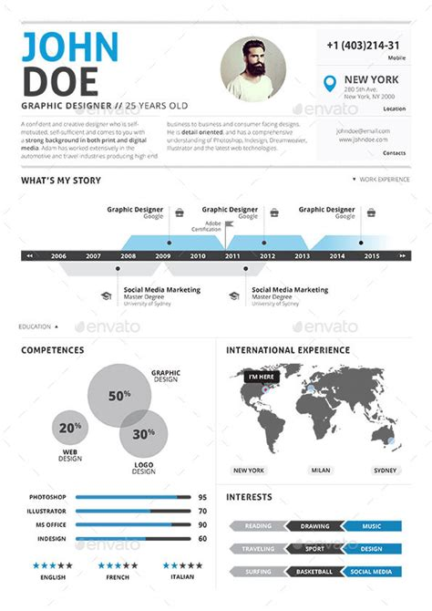 Clean Infographic Resume Vol 2 Cover Letter by Cover Letter Resume Search Results Calendar 2015