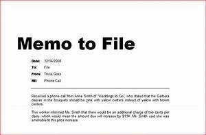 memorandum ejemplo imagui With note to file template