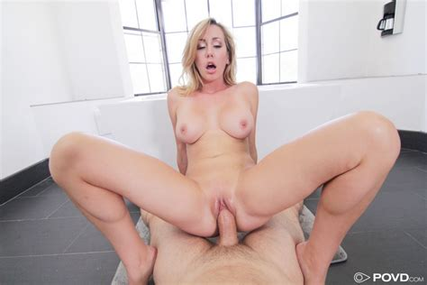 Brett Rossi Blonde With Dangerous Curves Fucked Pov Sex