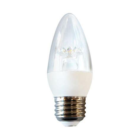 ecosmart light bulbs ecosmart 40 watt equivalent b11 led light bulb soft white