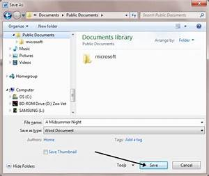 how to save a document step by step guide With documents saved on