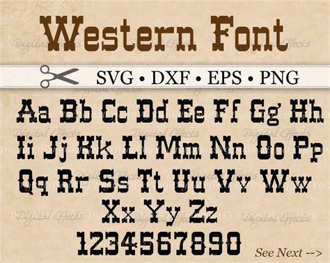 lettering fonts free western monogram svg font western alphabet svg dxf eps 92962
