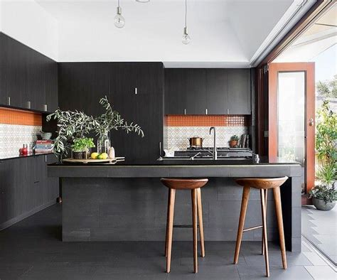 modern black kitchen design 12 kitchen design to in 2016 k 246 k house och 7581