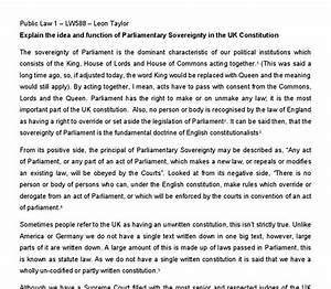 Parliamentary Sovereignty Essay College Essay Describe Yourself  Parliamentary Sovereignty Essay Planner