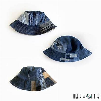 Bucket Upcycled Upcycling Hats Denim Thee Hat