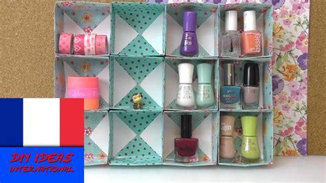 Boîte de rangement pour accessoires DIY / Cubes de papier
