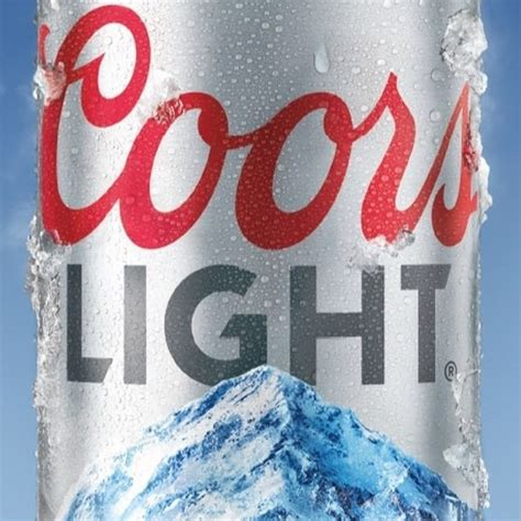 Coors Light Font by Coors Light Canada