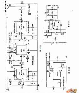 The 5v- 12v And -15v Dc Converter Circuit