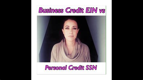 business credit  personal credit youtube