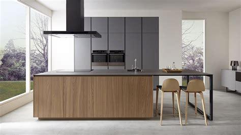 cocina de madera encimera gris buscar  google