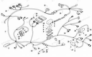 Arctic Cat Side By Side 2011 Oem Parts Diagram For Wiring Harness Assembly
