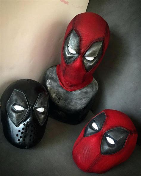 Deadpool Mask Mask Costume Glasses Deadpool Mask Replica ...