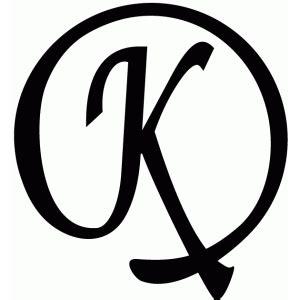 silhouette design store view design   flourish monogram