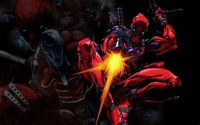 Deadpool Comic 4k Shooting Gun Anti Hero