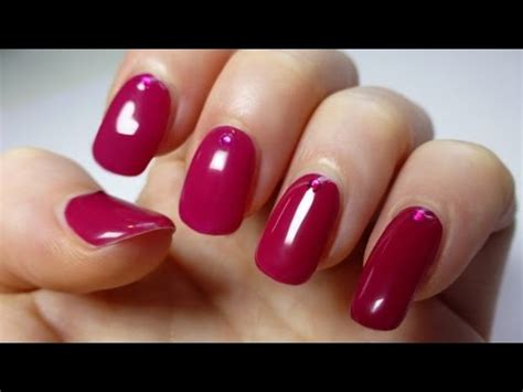 sexy berry nail art youtube