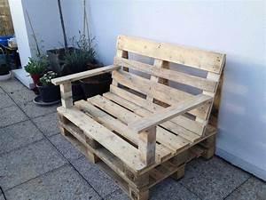 enchanteur fabriquer salon de jardin en palette de bois With plan salon de jardin en bois