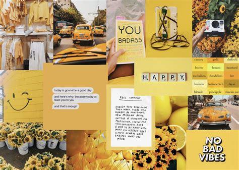 yellow computer wallpaper laptop wallpaper aesthetic