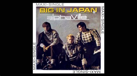 Japan Bid Alphaville Big In Japan Extended Re Mix