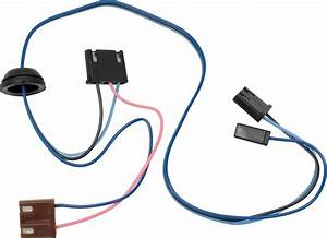 Wiper Motor Harness  1965