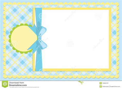 baby template template for baby s photo album stock vector image 13833131