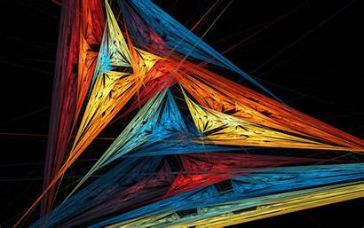 Background Line Wallpapers Fractal 3d Bright Abstract