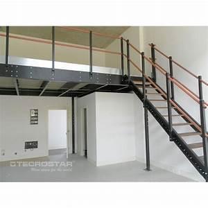Mezzanine Metallique En Kit : mezzanine t30 tecrostar ~ Premium-room.com Idées de Décoration