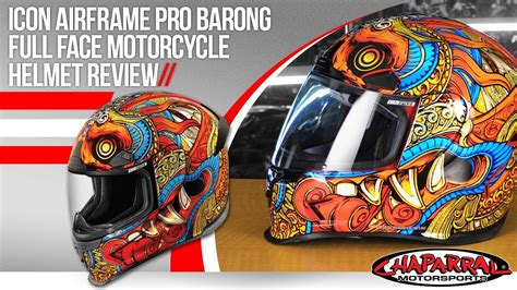 Icon Airframe Pro Barong Full Face Motorcycle Helmet