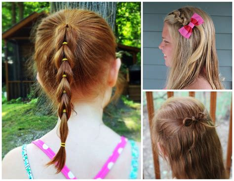 3 easy hairstyles for girls that are perfect for back to