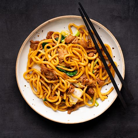 minute shanghai noodles marions kitchen