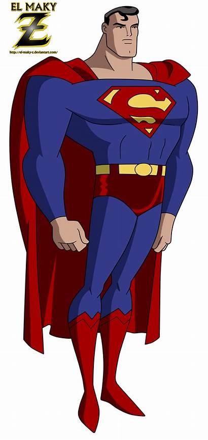 Superman Deviantart Dc Jlu Maky Timm Bruce