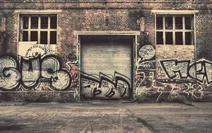 Graffiti On Wall In City 4k HD Wallpaper HD Wallpapers
