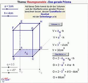 Grundfläche Berechnen Prisma : das volumen der prismen errechnet sich mit der formel quot grundfl che pictures to pin on ~ Themetempest.com Abrechnung