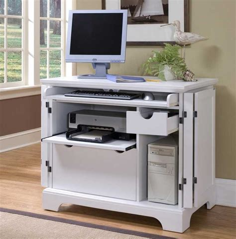 laptop desk with printer shelf awesome small white computer desk with slider keyboard