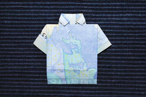 geldscheine falten als hemd kinderspiele weltde