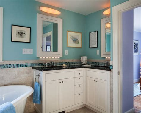 shaped vanity home design ideas pictures remodel  decor