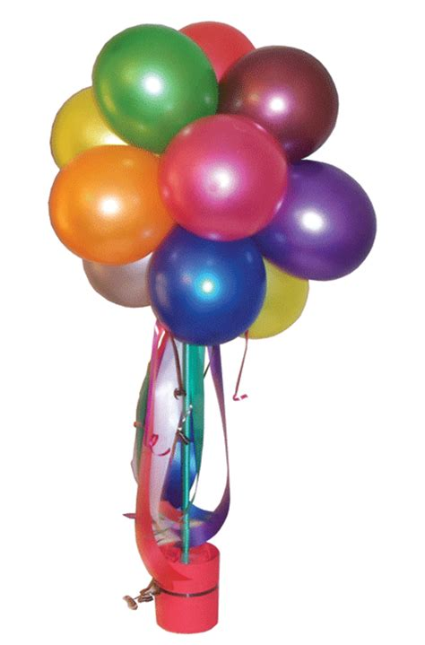 huff puff balloons topiary trees  balls