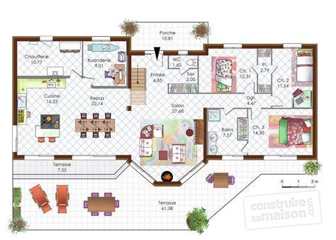 construire sa cuisine en bois maison en bois moderne dé du plan de maison en bois