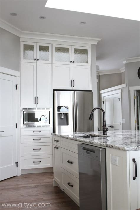 interior of kitchen cabinets cabinets interior doors and all trim bm mascarpone wall