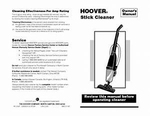 Stick Vacuum Manuals