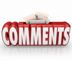 Comments Submit Ideas Suggestion Word Box Feedback Reviews ...