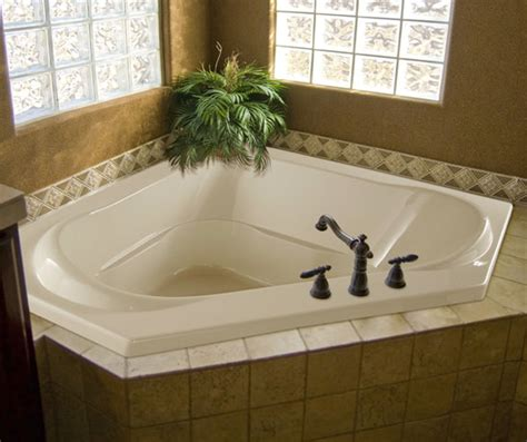 Jetted Tub by Hydro Systems Clarissa Jetted Corner Whirlpool Tub Jetted Tub