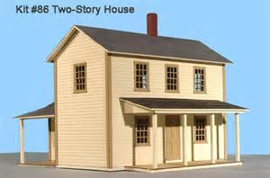 gambrel house plans s scale structure kits