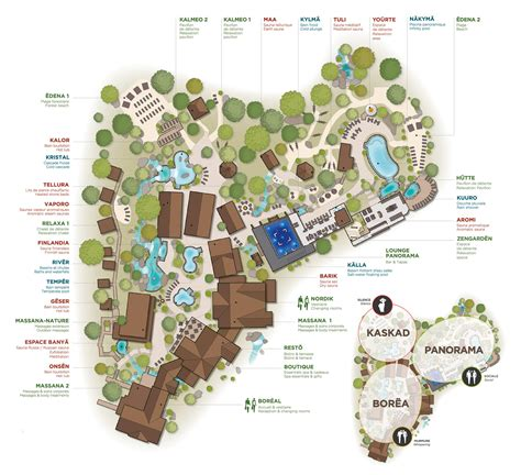 Overview of the site   Spa site and installations   Nordik ...