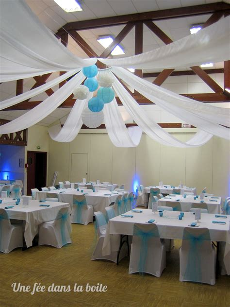 mariage turquoise  blanc apres deco mariage