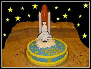Space Shuttle Birthday Cake | My Cakes | Pinterest | Space ...