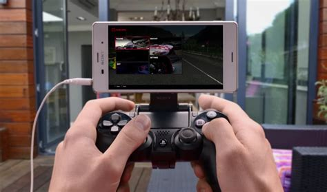 playstation 4 app ps4 remote play app now available for xperia z3 devices