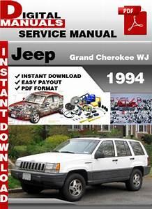 Jeep Grand Cherokee Wj 1994 Factory Service Repair Manual