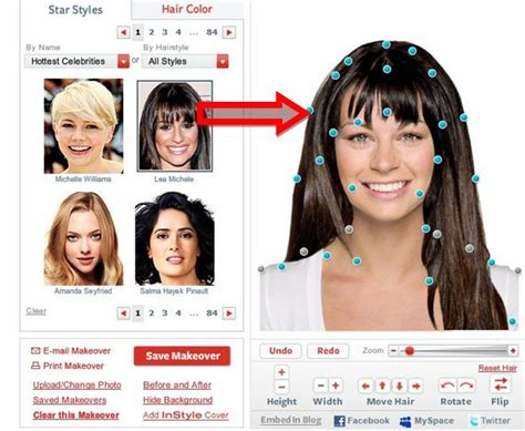 Free Virtual Hairstyle Makeover
