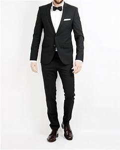 Hugo boss kostym svart